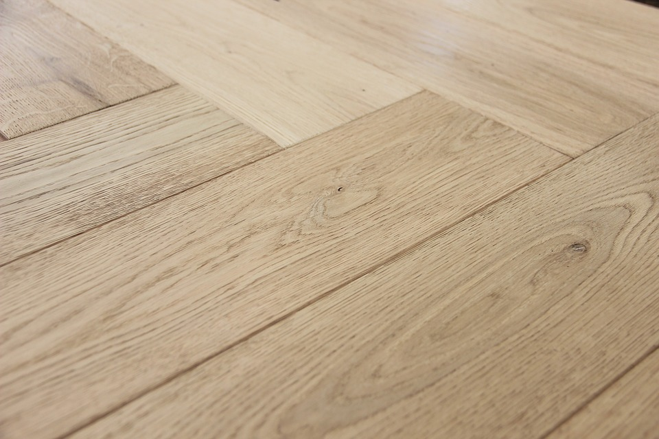 Visgraat PVC vloer